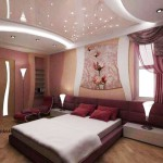 Окачени тавани в спалнята (8)