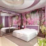 Окачени тавани в спалнята (9)