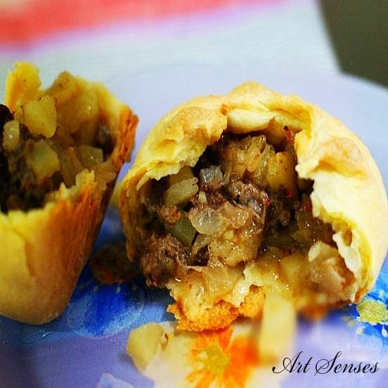 Татарски пирожки (беляши) - красота и вкус
