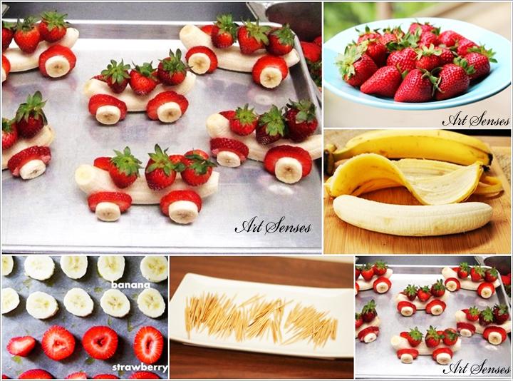 Забавни идеи за декорация на храна