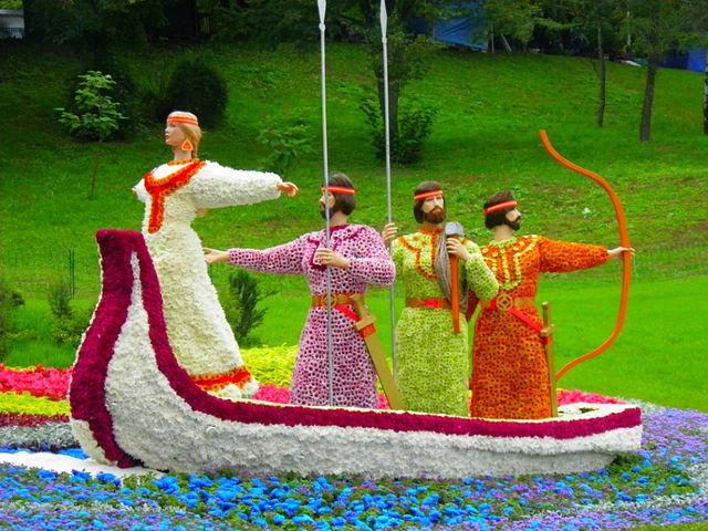 Изложба на цветя - Киев