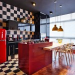 Стилен апартамент с цветни контрасти (15)