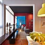 Стилен апартамент с цветни контрасти (2)