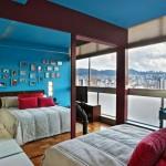 Стилен апартамент с цветни контрасти (6)