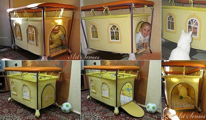 Направи си артистична дизайнерска бебешка кошара