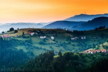 Summer dawn in Rhodopes