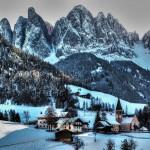 Градове, особено красиви през зимата (3)