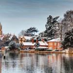 Градове, особено красиви през зимата (5)