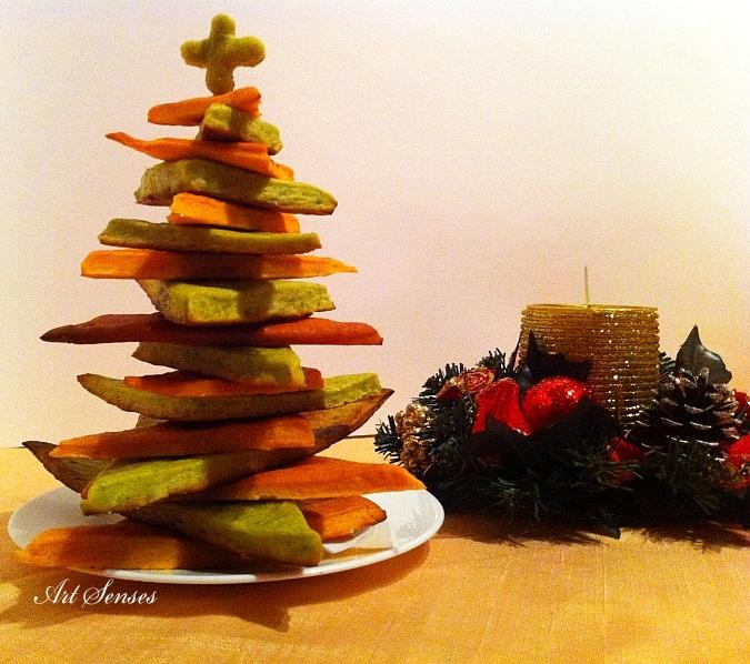 Коледен хляб Елхичка