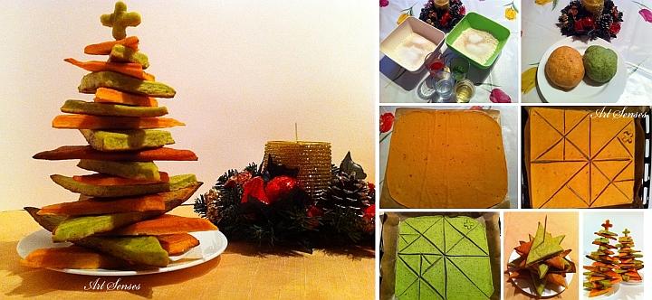 """Коледен хляб """"Елхичка"""""""