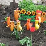 Изкуство от използвани пластмасови бутилки или PET-Art (10)