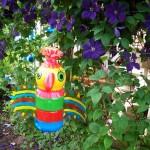 Изкуство от използвани пластмасови бутилки или PET-Art (4)
