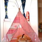 Индианска шатра типи (5)