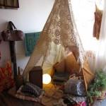 Индианска шатра типи (9)