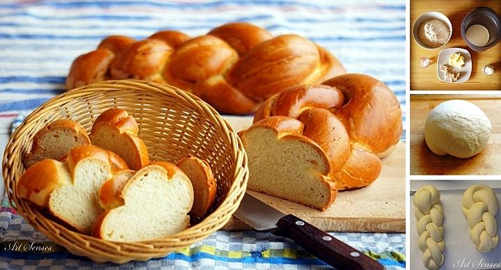 Швейцарски сплетен хляб Zopf