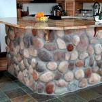 Декорации с речни камъни в дома (1)