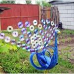 Идеи за градински декорации със стари гуми (4)