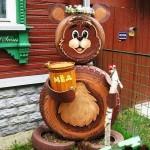 Идеи за градински декорации със стари гуми (9)