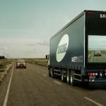 камион с камера и екрани