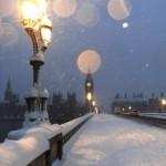 Лондон през зимата