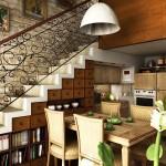 идеи за пространството под стълбите (5)