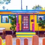 Уникален дом от стар трамвай