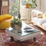 Направи си холна маса от стар чугунен радиатор