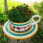 Градински чаши-цветарници