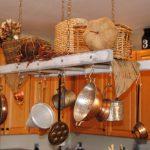 Нестандартна употреба на старата стълба в кухнята9