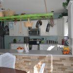 Нестандартна употреба на старата стълба в кухнята13