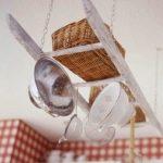 Нестандартна употреба на старата стълба в кухнята4