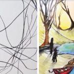 Детска рисунка - картина