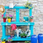 Направи си градинска маса за садене и пресаждане (1)