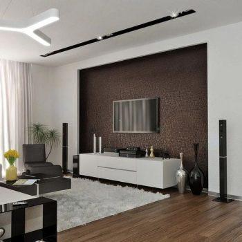 Интериорен дизайн – идеи за стената на телевизора