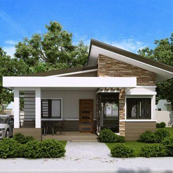 Красива къща с две спални на 60 квадрата
