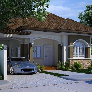 Красива лятна къща с 3 спални на 100 квадрата