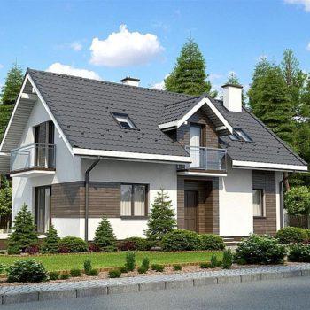 Невероятна къща с мансарден етаж и 4 спални на 125 квадрата
