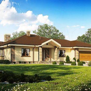 Красива и практична къща с 3 спални и двоен гараж