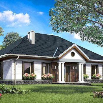 Великолепна едноетажна къща под 120м2 – 4 спални